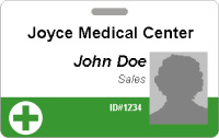 Healthcare ID Badges